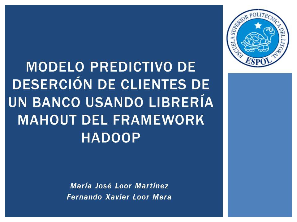 María José Loor Martínez Fernando Xavier Loor Mera