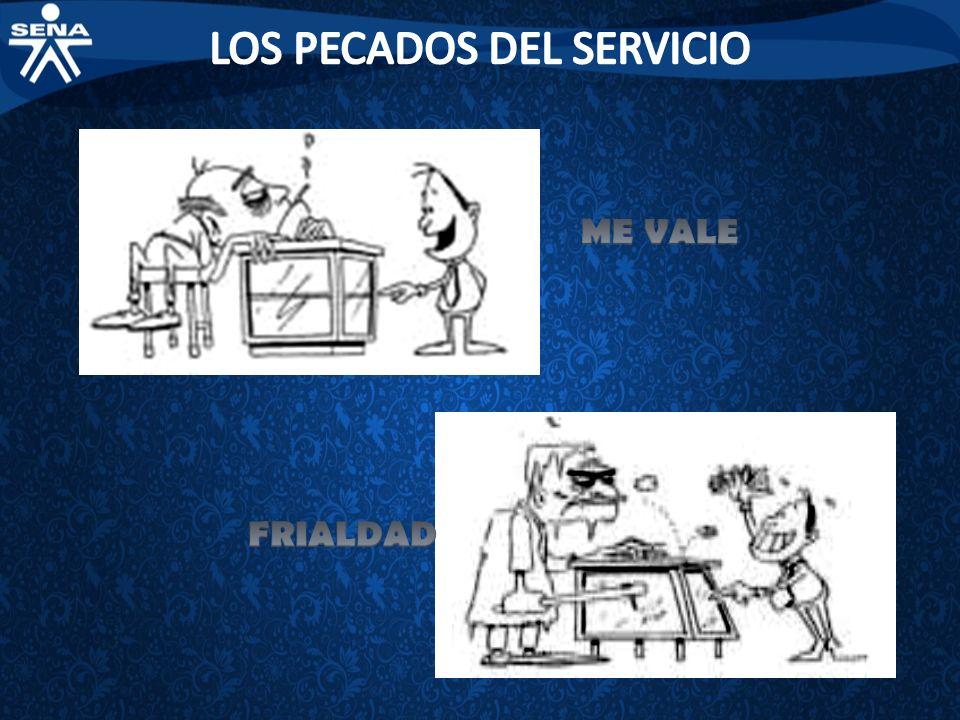 LOS PECADOS DEL SERVICIO