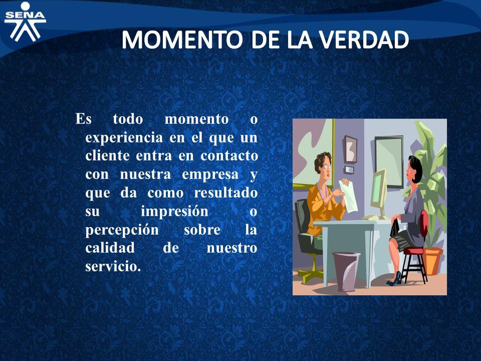 MOMENTO DE LA VERDAD