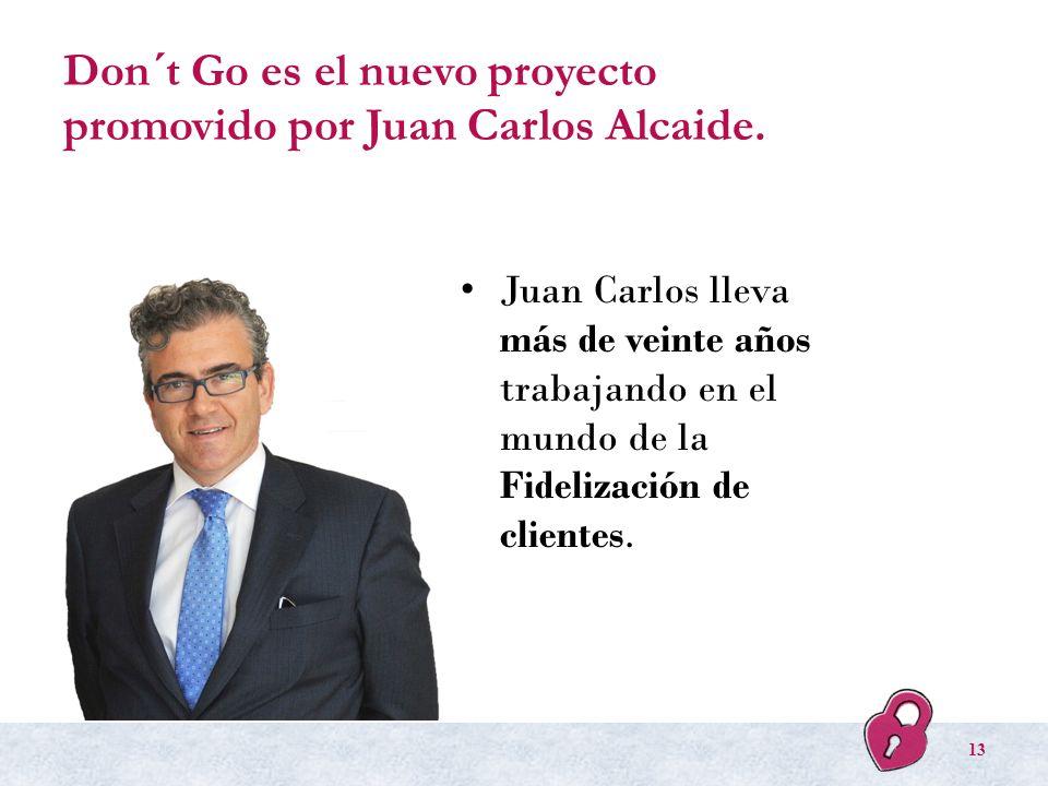 Don´t Go es el nuevo proyecto promovido por Juan Carlos Alcaide.