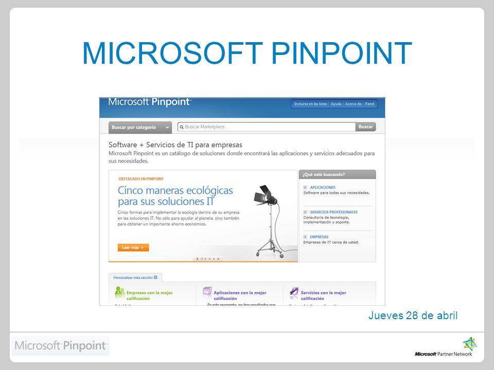 Agenda Introducción Beneficios de Utilizar Pinpoint