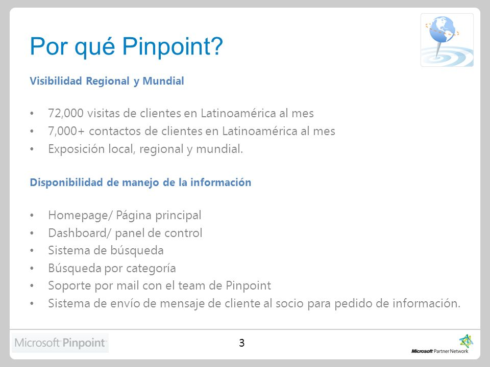 Beneficios de utilizar Pinpoint
