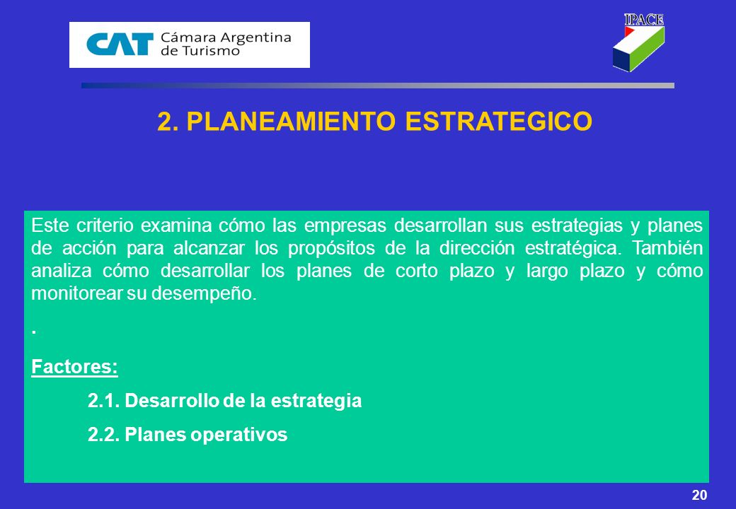2. PLANEAMIENTO ESTRATEGICO
