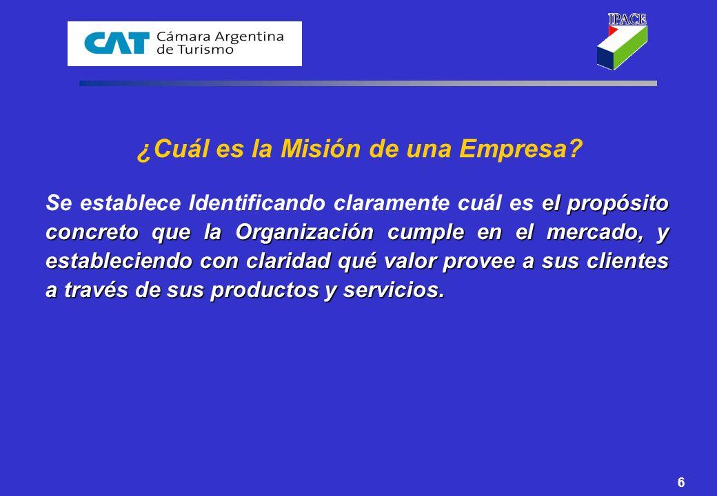 ¿Cuál es la Misión de una Empresa