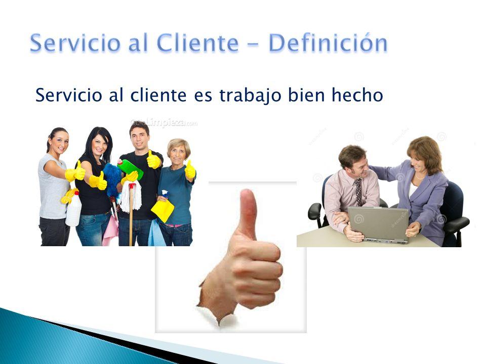 Servicio al Cliente - Definición