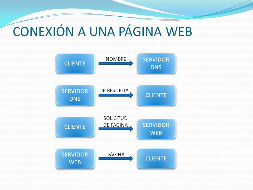 CONEXIÓN A UNA PÁGINA WEB