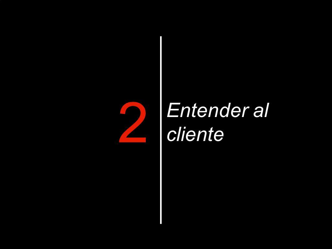 Entender al cliente 2