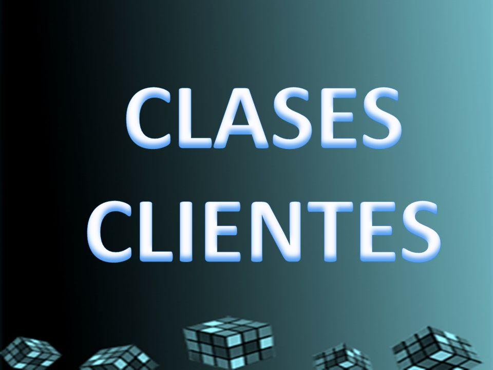 CLASES CLIENTES