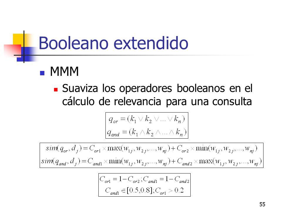 Booleano extendido MMM
