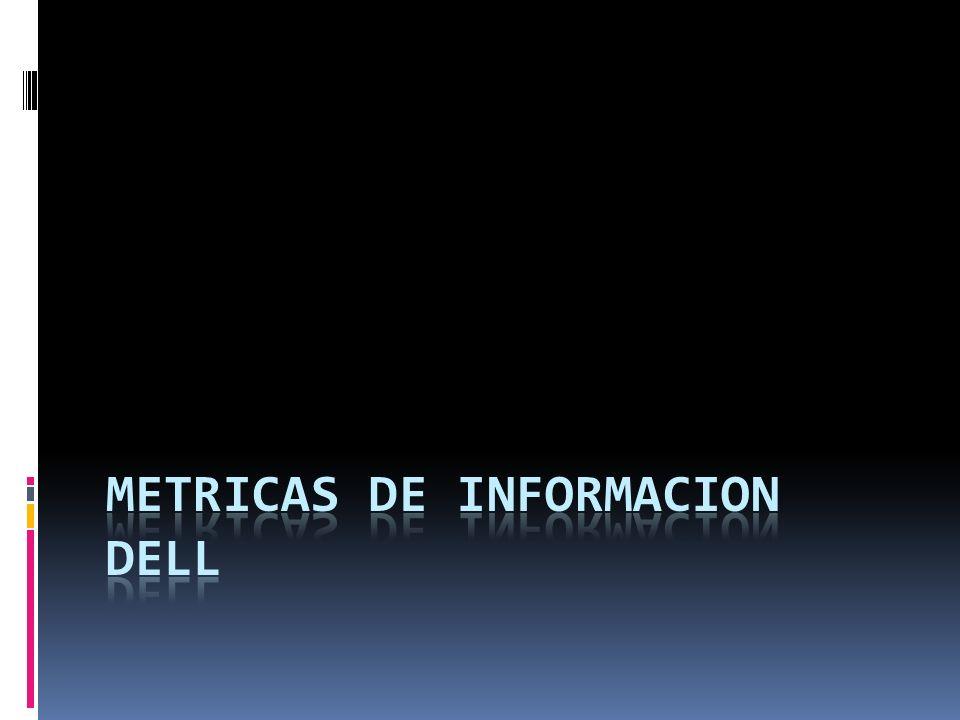 METRICAS DE INFORMACION DELL
