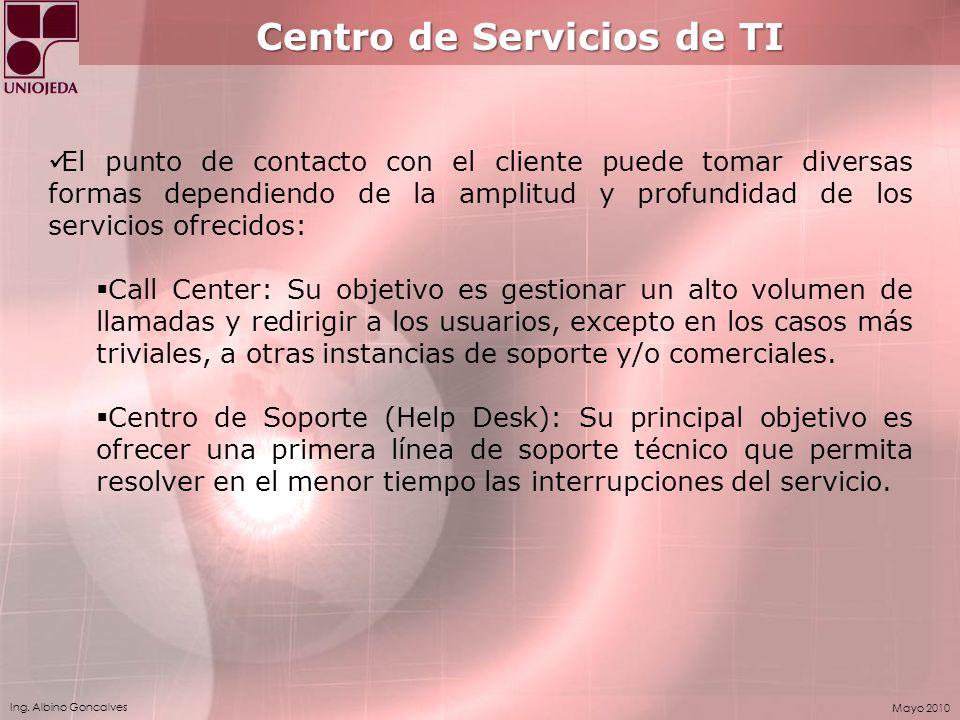 Centro de Servicios de TI