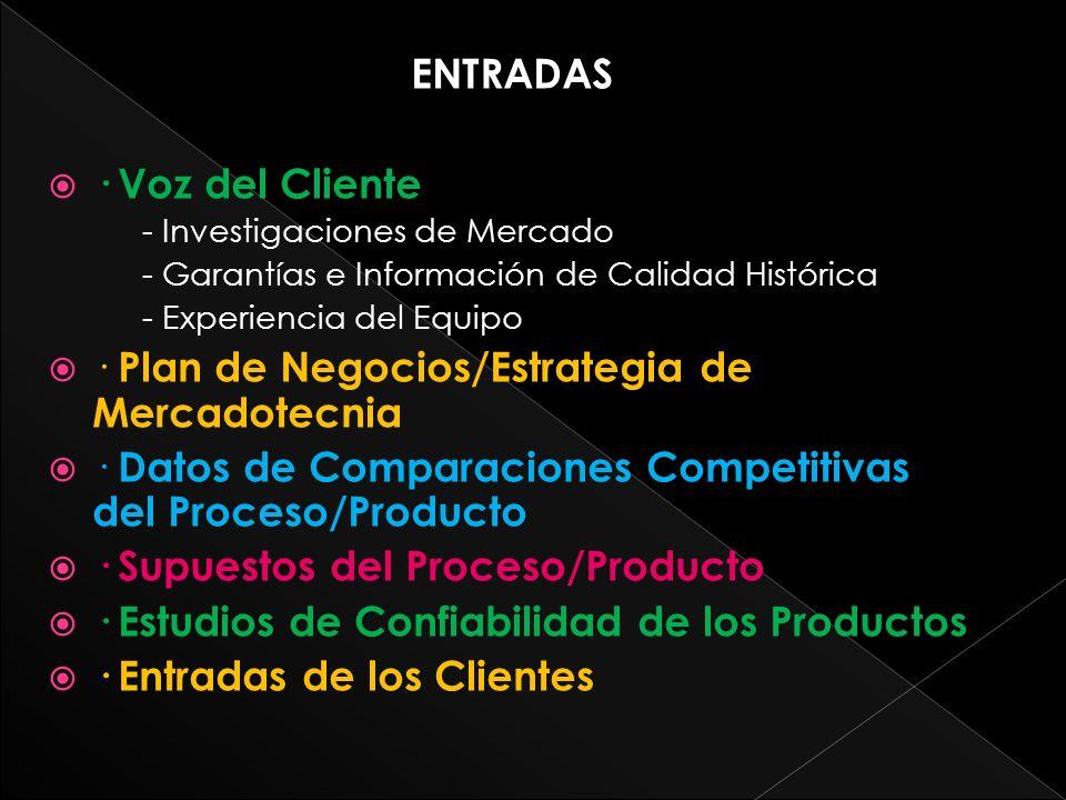 · Plan de Negocios/Estrategia de Mercadotecnia
