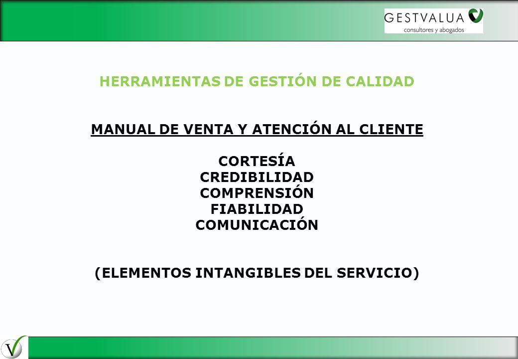 HERRAMIENTAS DE GESTIÓN DE CALIDAD