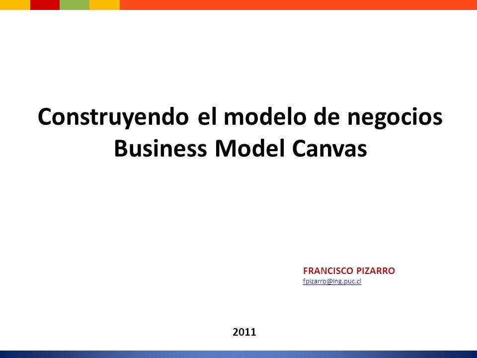Construyendo el modelo de negocios
