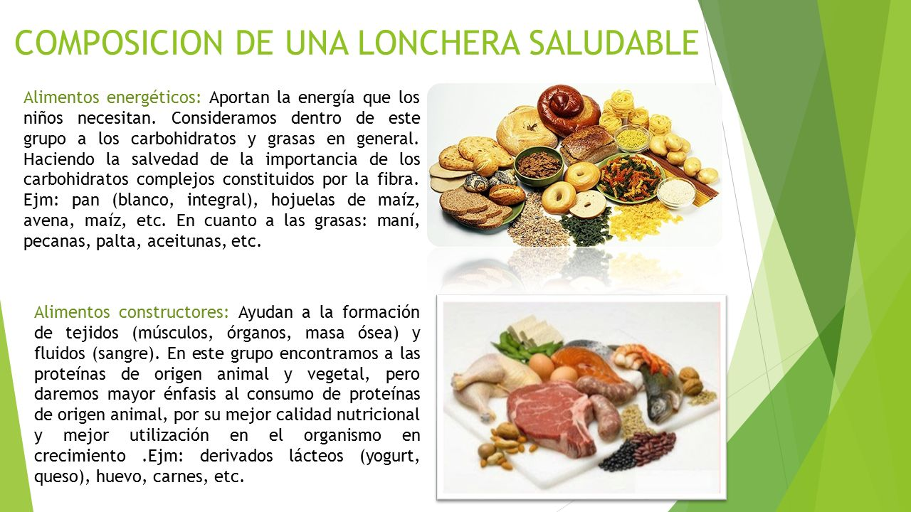 LONCHERAS SALUDABLES Ing. Angel Teodoro Robles Ruiz - ppt