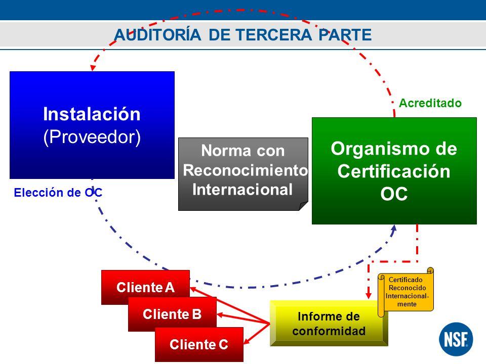 AUDITORÍA DE TERCERA PARTE