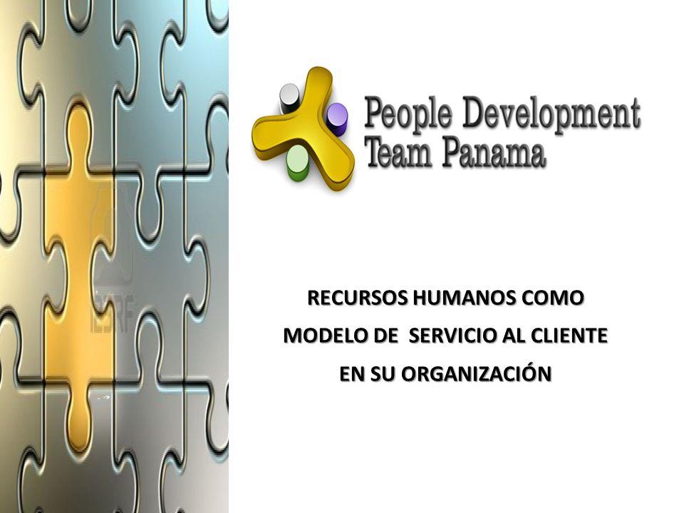 MODELO DE SERVICIO AL CLIENTE EN SU ORGANIZACIÓN