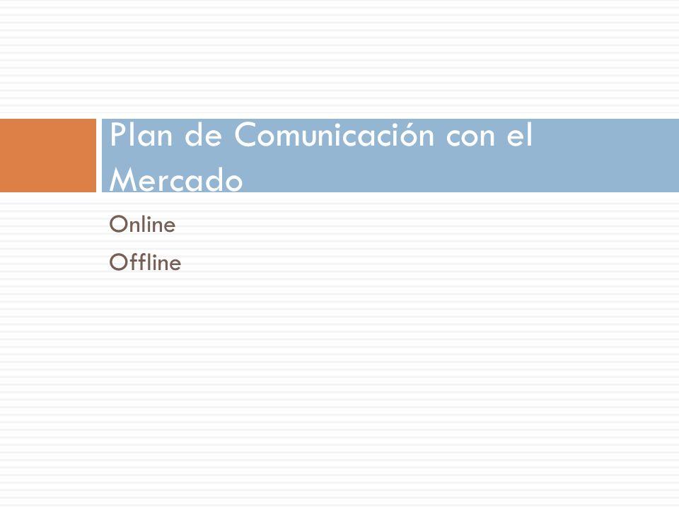 Plan de Comunicación con el Mercado