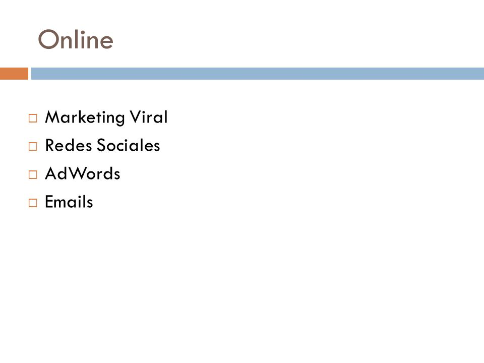 Online Marketing Viral Redes Sociales AdWords Emails