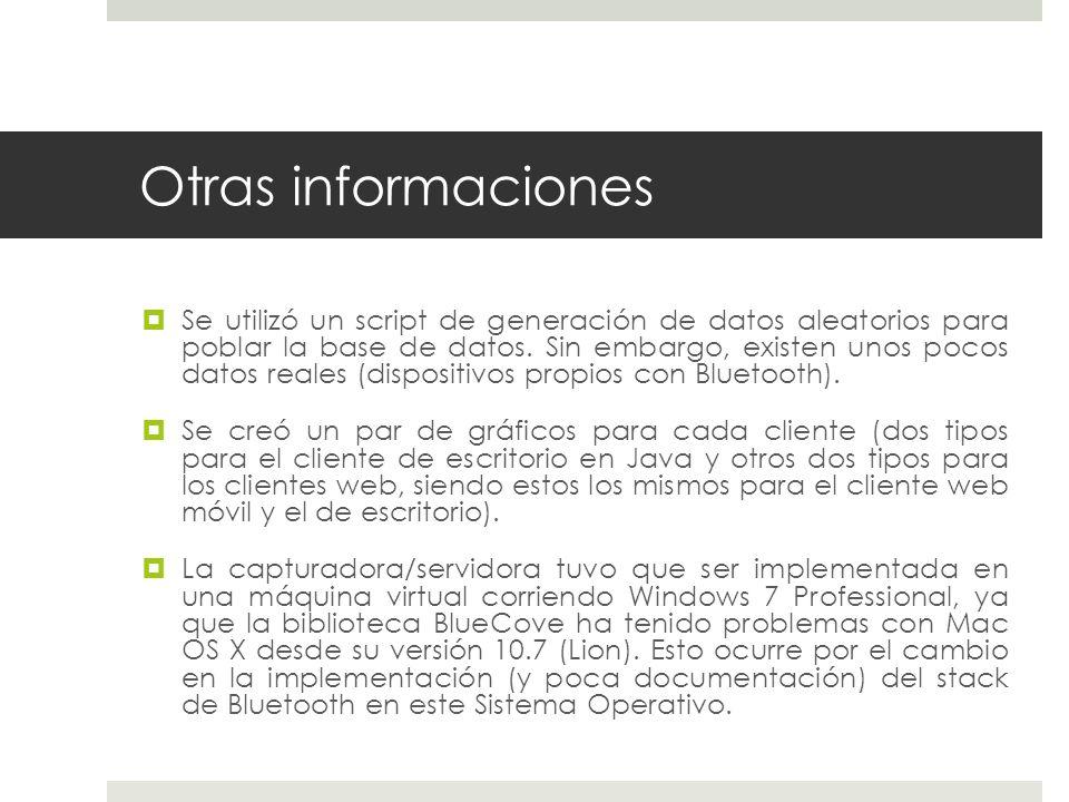 Otras informaciones