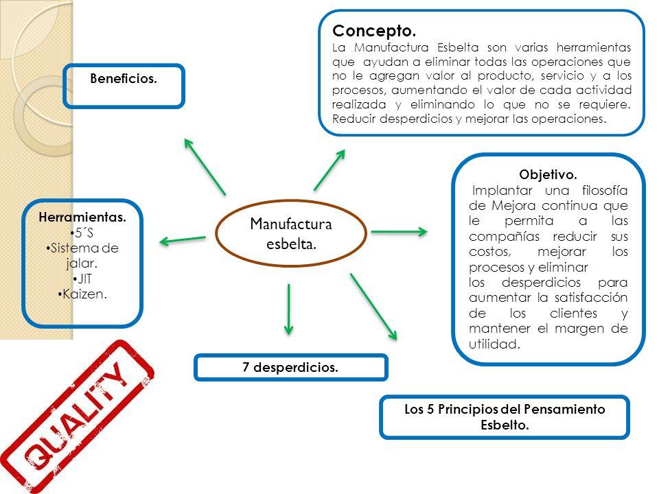 Los 5 Principios del Pensamiento Esbelto.