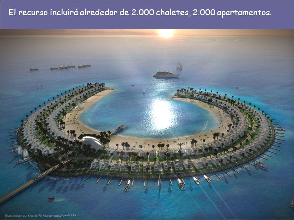 El recurso incluirá alrededor de 2.000 chaletes, 2.000 apartamentos.