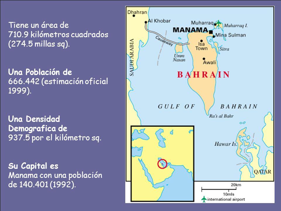 Tiene un área de 710.9 kilómetros cuadrados (274.5 millas sq). Una Población de. 666.442 (estimación oficial 1999).