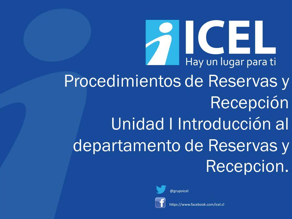 Procedimientos de Reservas y Recepción