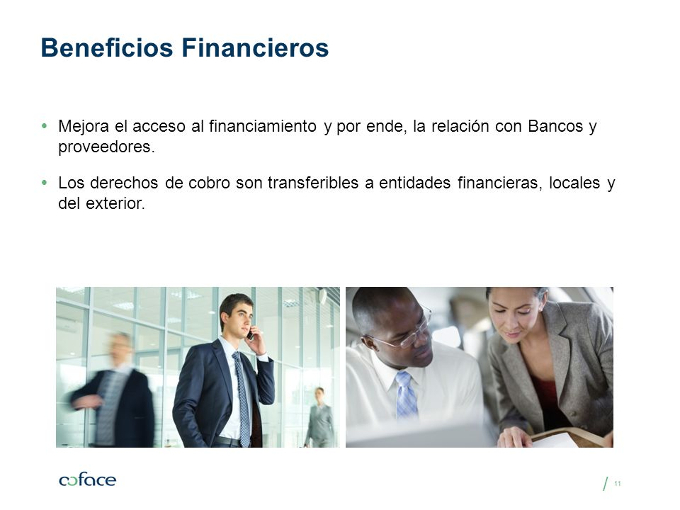 Beneficios Financieros