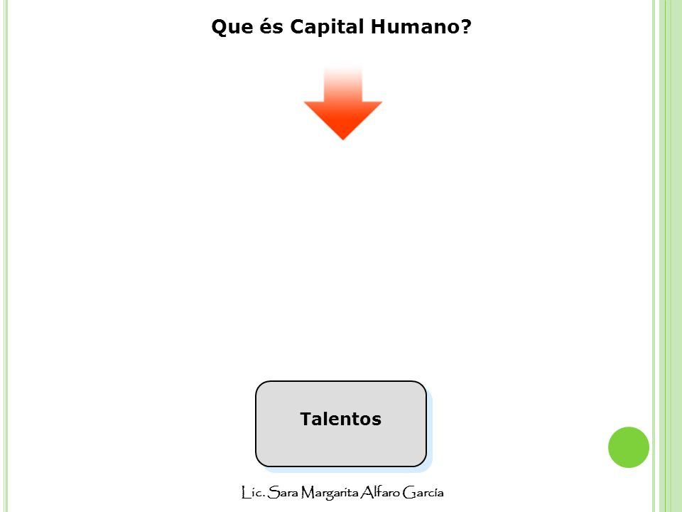 Que és Capital Humano Talentos