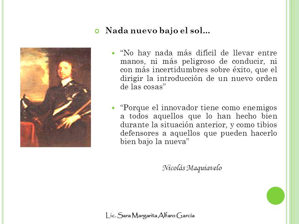 Nada nuevo bajo el sol... Nicolás Maquiavelo