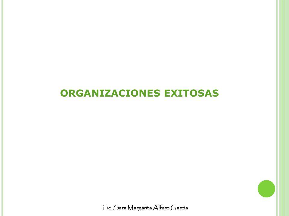 ORGANIZACIONES EXITOSAS