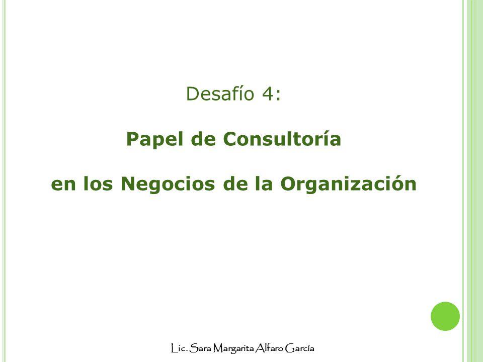 en los Negocios de la Organización