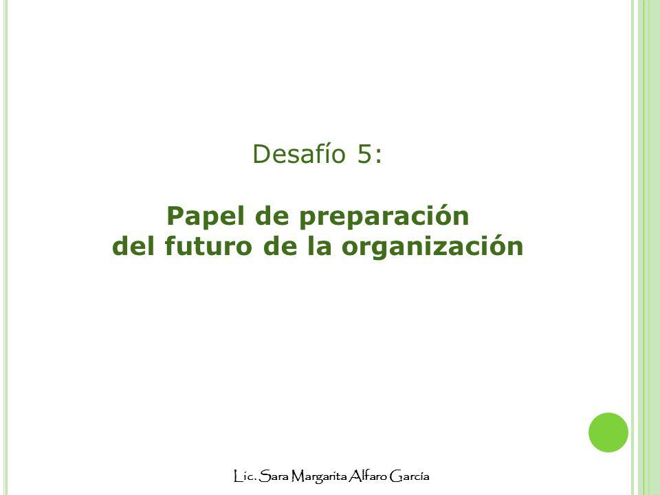 del futuro de la organización