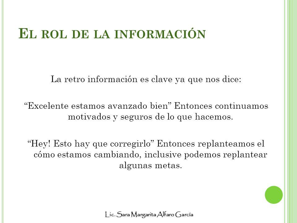 El rol de la información