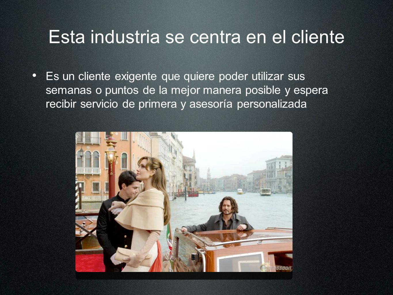 Esta industria se centra en el cliente