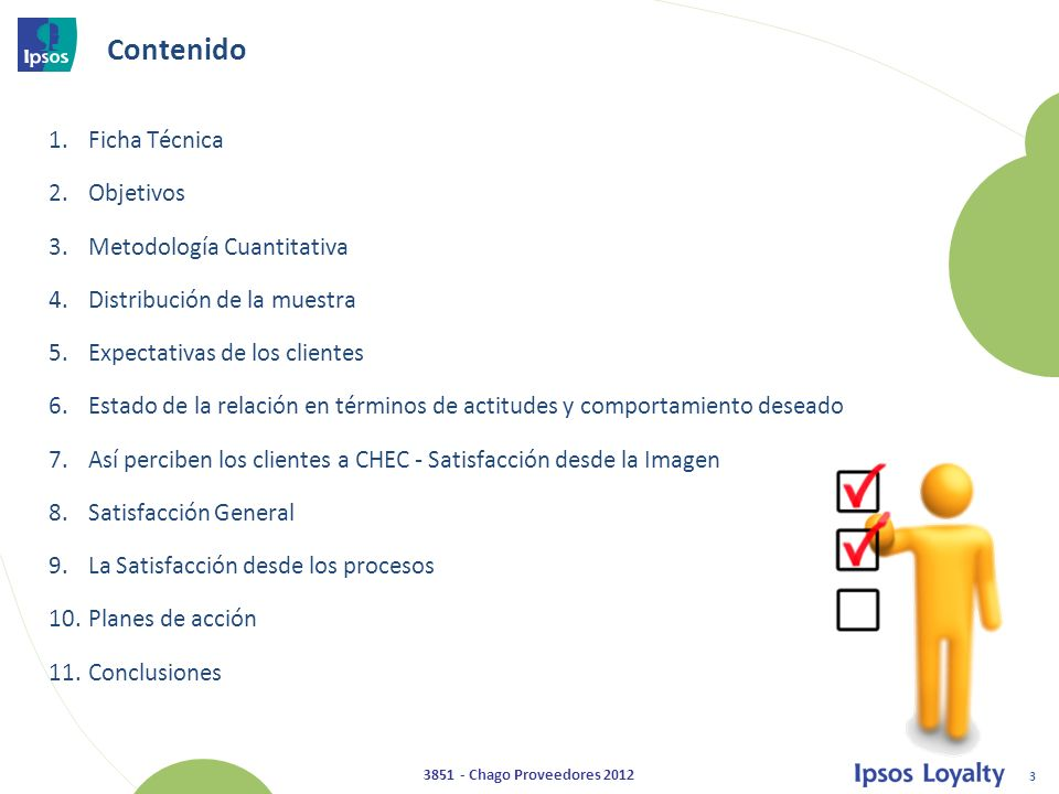 Contenido Ficha Técnica Objetivos Metodología Cuantitativa