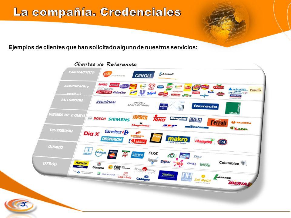 La compañía. Credenciales
