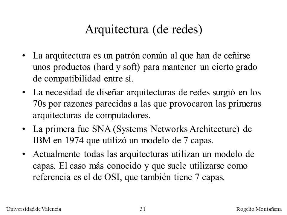Arquitectura (de redes)