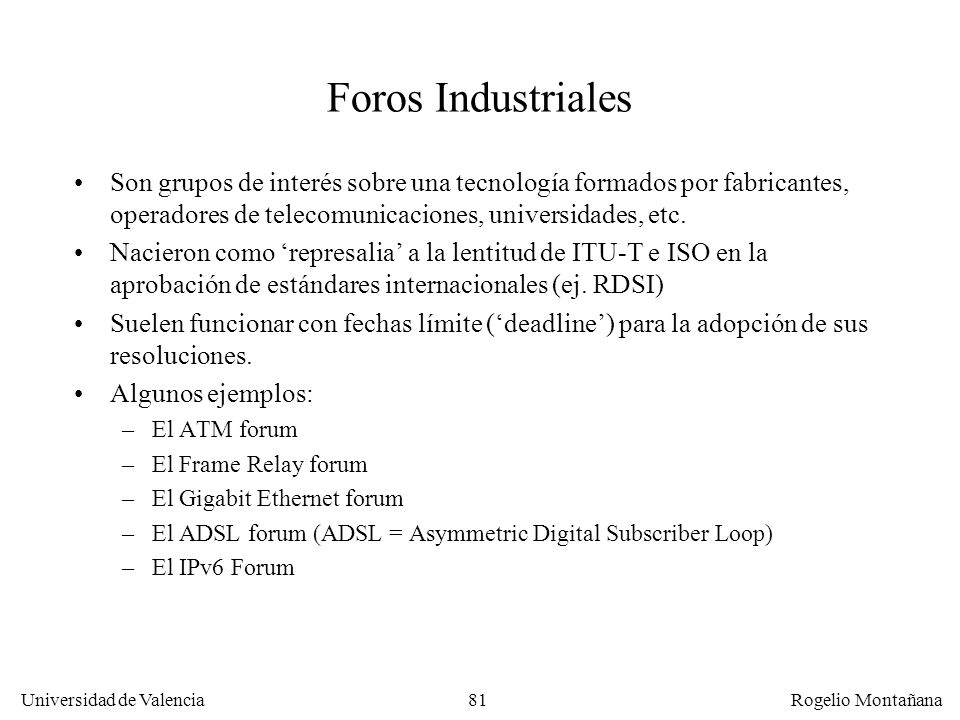 Fundamentos Foros Industriales.
