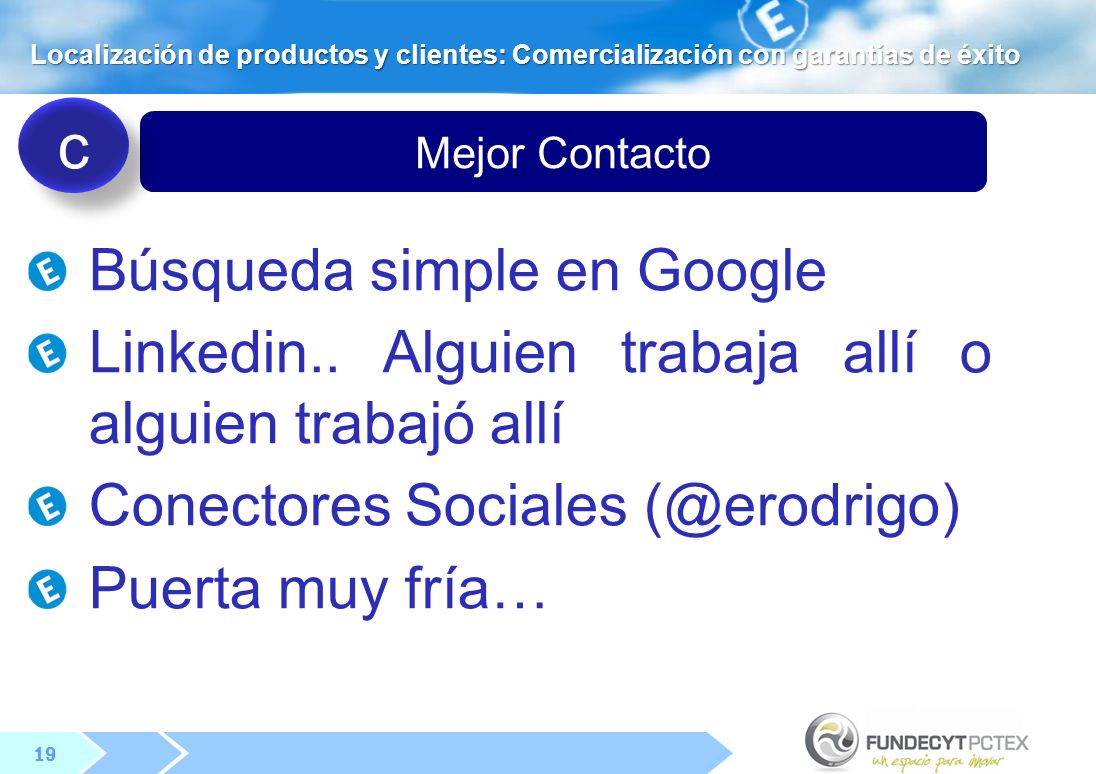 c Búsqueda simple en Google
