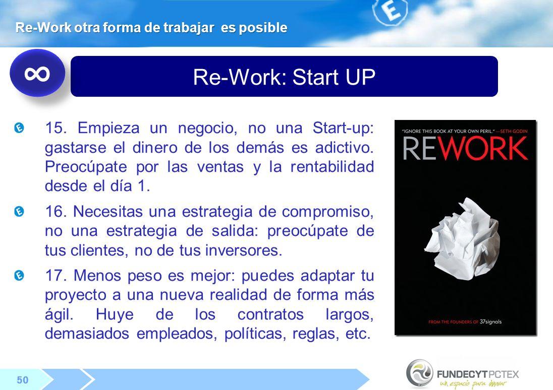 Re-Work otra forma de trabajar es posible