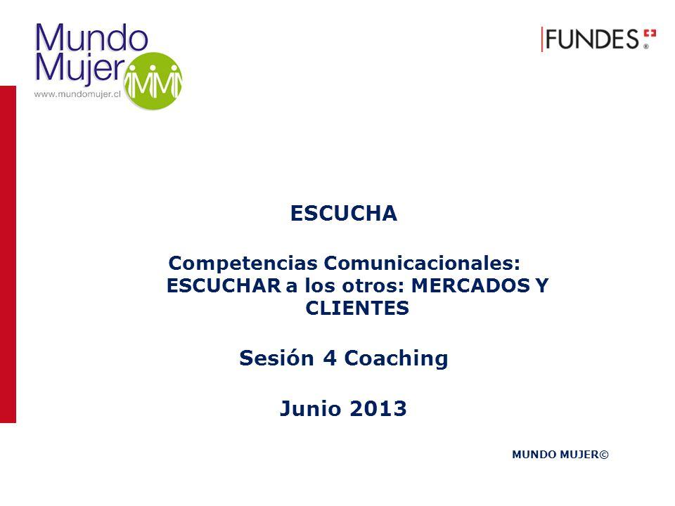ESCUCHA Sesión 4 Coaching Junio 2013