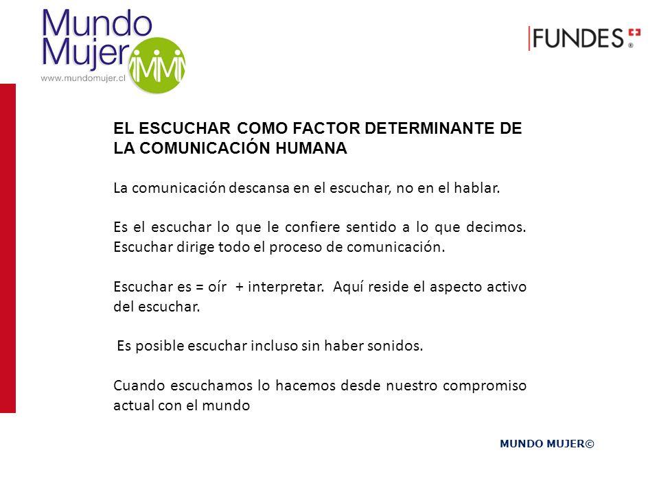 EL ESCUCHAR COMO FACTOR DETERMINANTE DE LA COMUNICACIÓN HUMANA