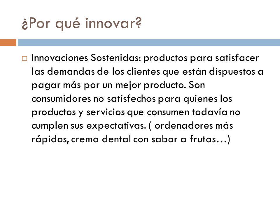 ¿Por qué innovar