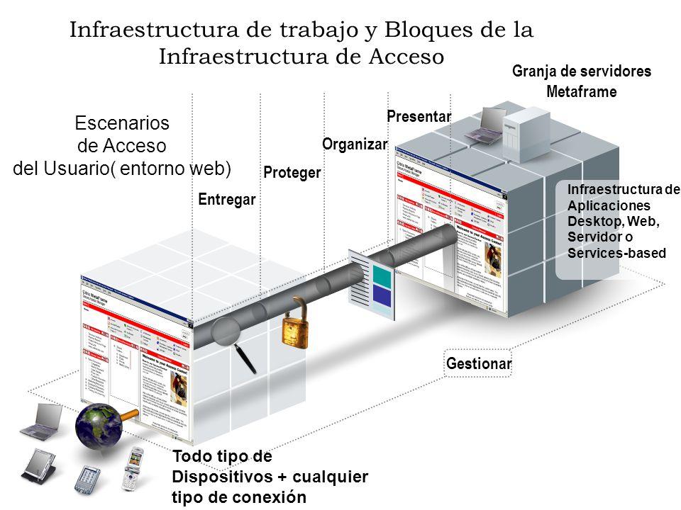 Infraestructura de trabajo y Bloques de la Infraestructura de Acceso