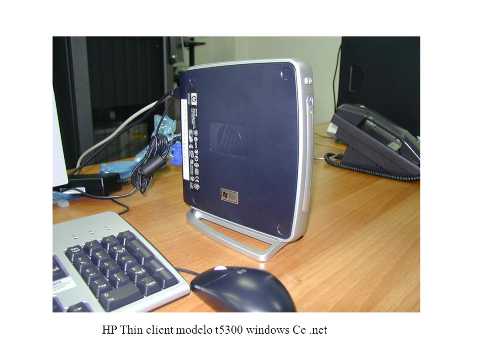 HP Thin client modelo t5300 windows Ce .net
