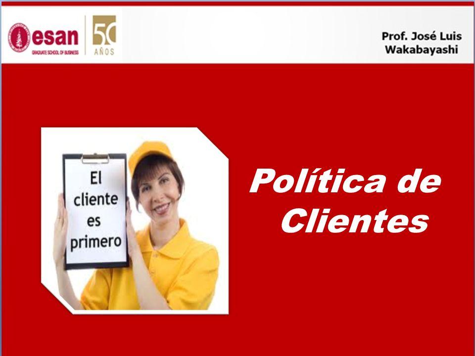 Política de Clientes