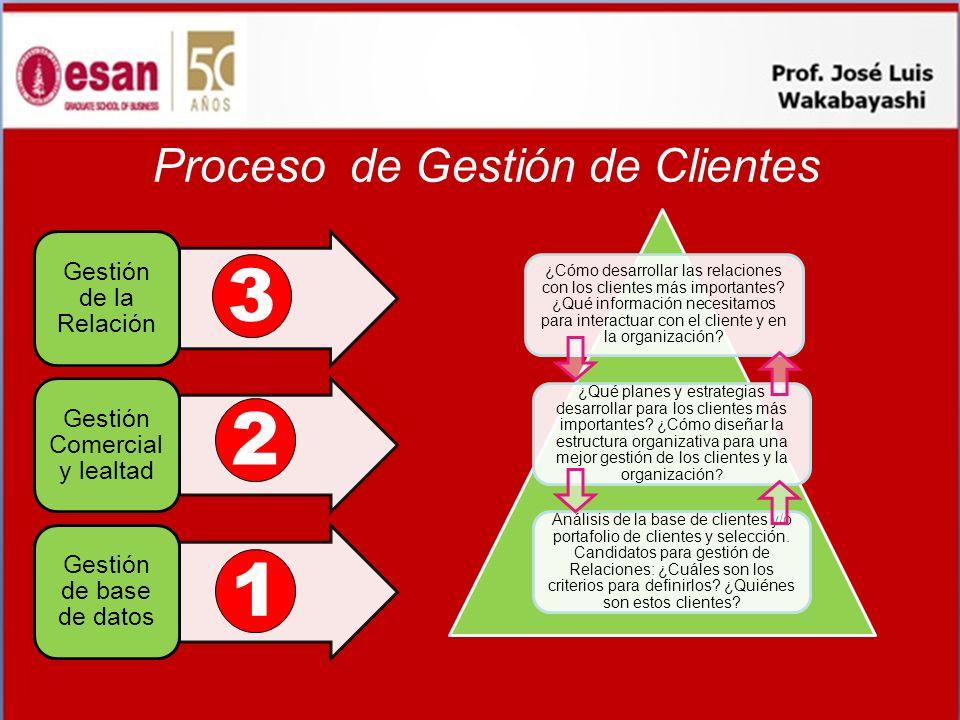 Proceso de Gestión de Clientes