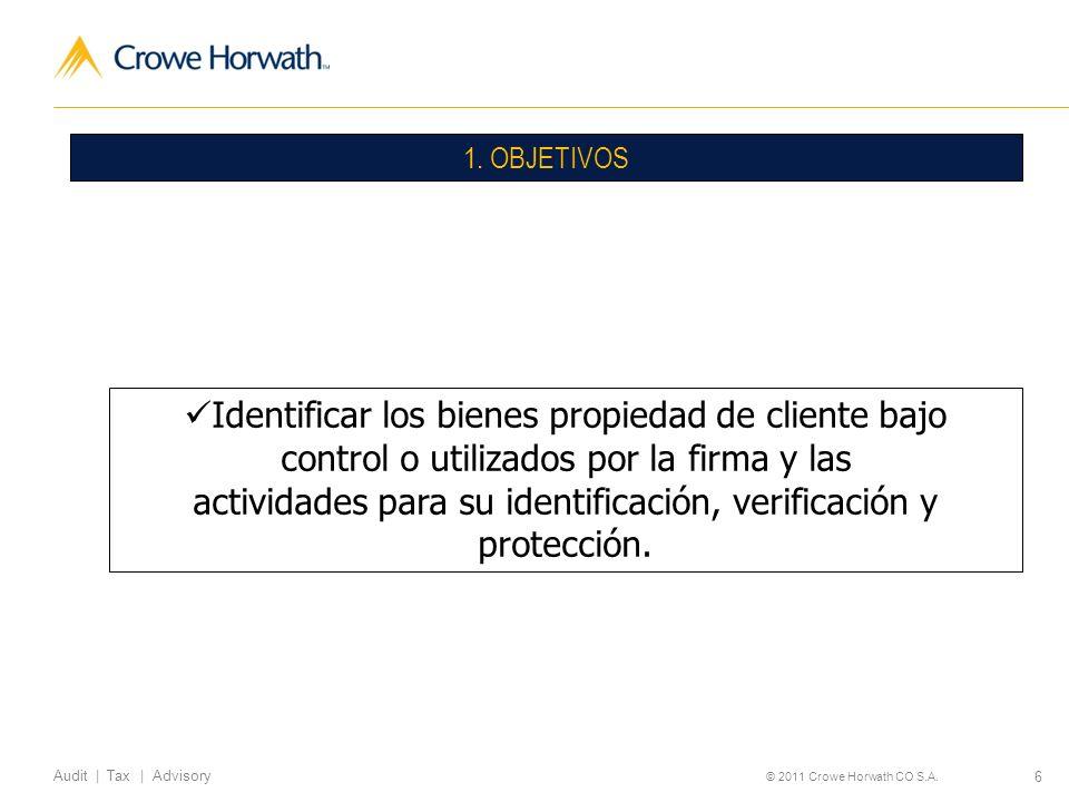 Identificar los bienes propiedad de cliente bajo